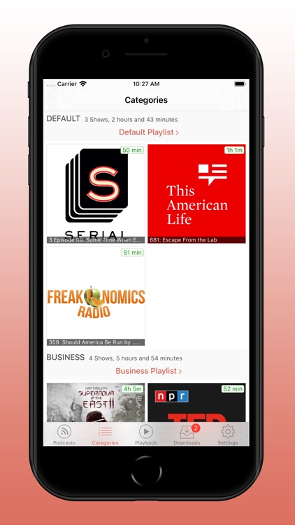 RSSRadio Podcast Player