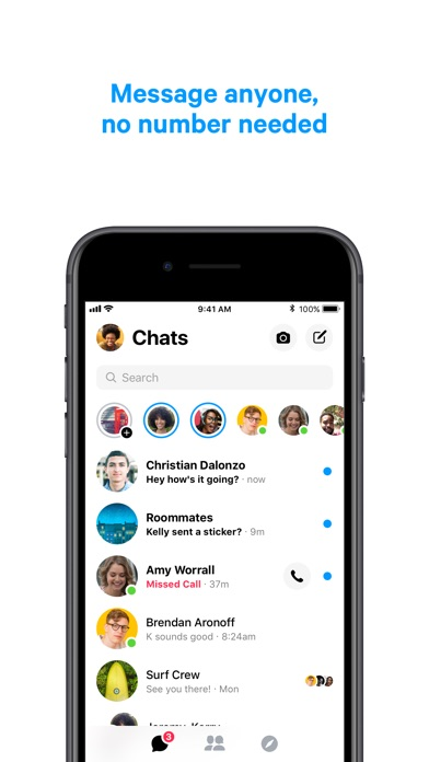 Messenger Screenshots