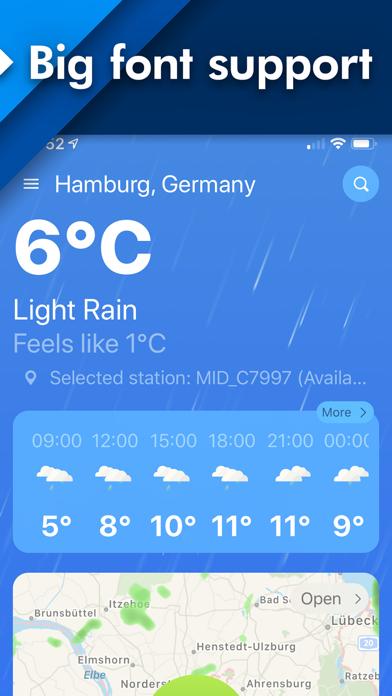 Weather Widgets for iPhone Screenshot