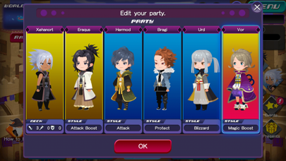 Download KINGDOM HEARTS Uχ Dark Road for Android