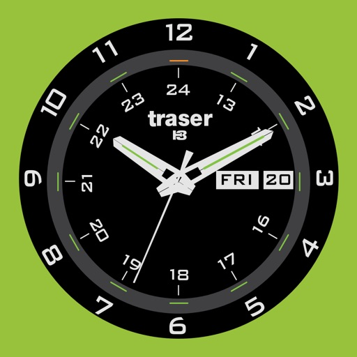 traser® H3 – a Swiss made watch with unreached readability