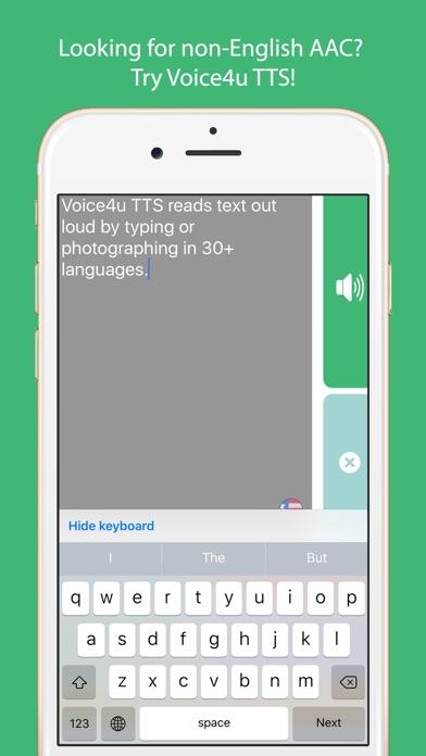 Voice4u TTS Screenshots