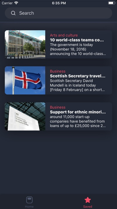 Screenshot for MinistryNF in United States App Store