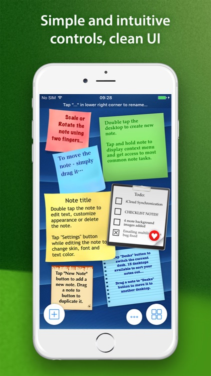 abcNotes - Sticky Note Madness screenshot-0