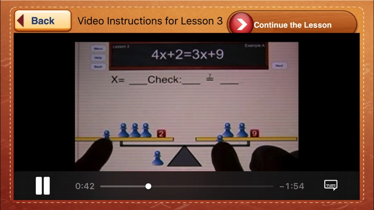 Hands-On Equations 1 screenshot-4