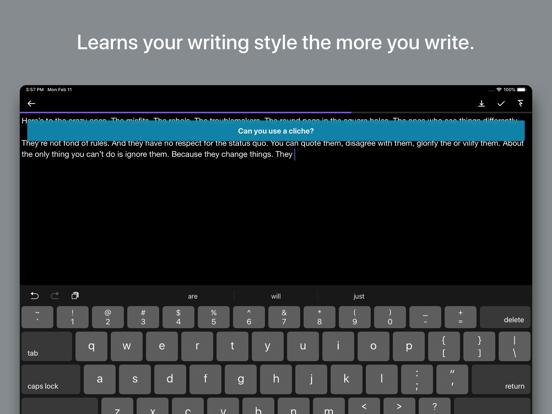 Prompts for Writing Screenshots