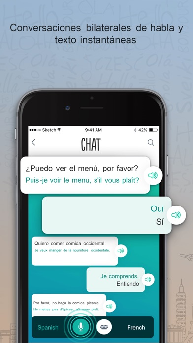 Screenshot for Francés Trocal in Spain App Store