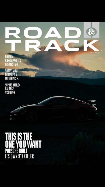 Road & Track Magazine US