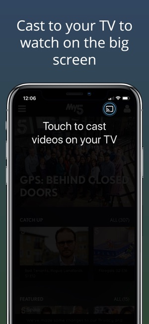 51b483d343d16 My5 - Channel 5 on the App Store