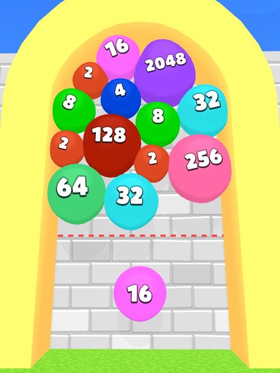 2048 Balloons 3D screenshot 6