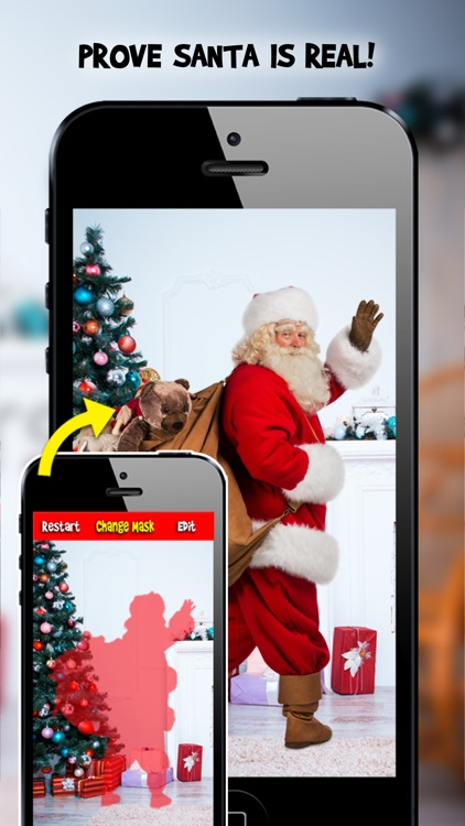 Snap Santa Photo Editor Booth