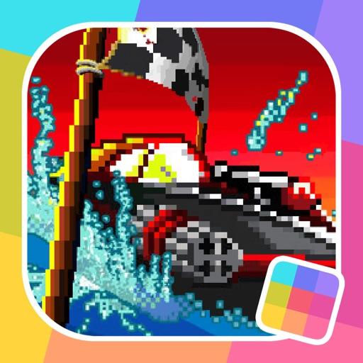 Pixel Boat Rush - GameClub