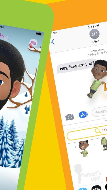 Mojichat: Animated 3D Emojis screenshot-4