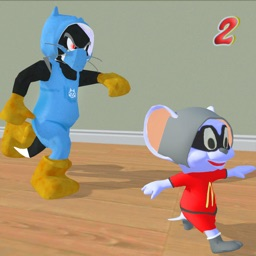 Cat and Mouse Chase Simulator