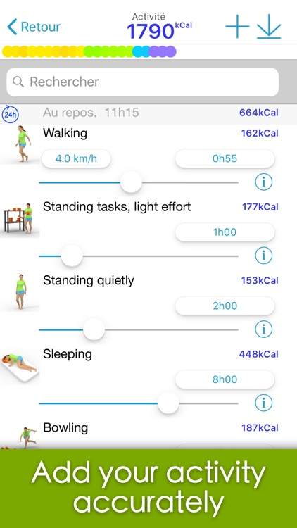 Calories minute screenshot-6