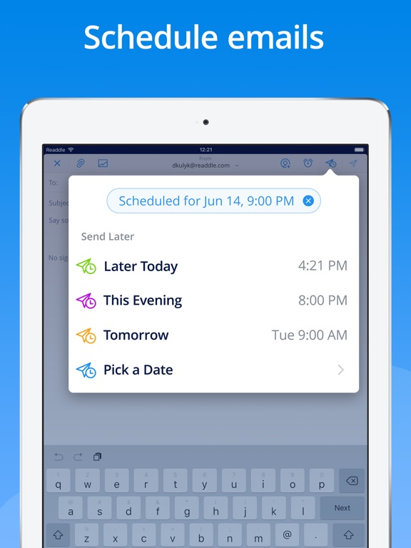 Screenshot #4 for Spark - Email App by Readdle