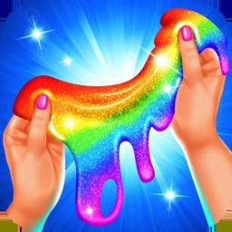 Rainbow Glitter Slime Maker