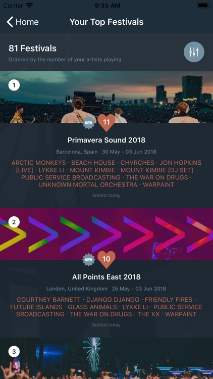 crabhands: new music/festivals screenshot-4