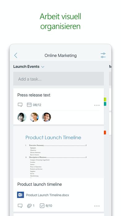 Microsoft PlannerScreenshot von 3