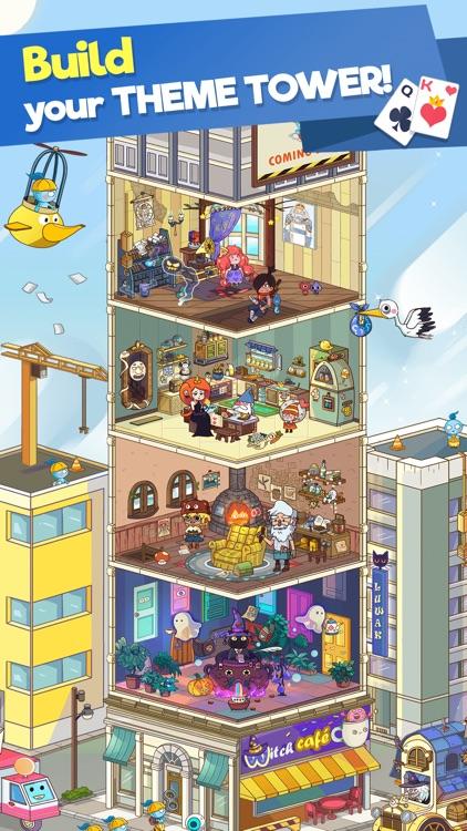 Theme Solitaire: Tripeaks game screenshot-0