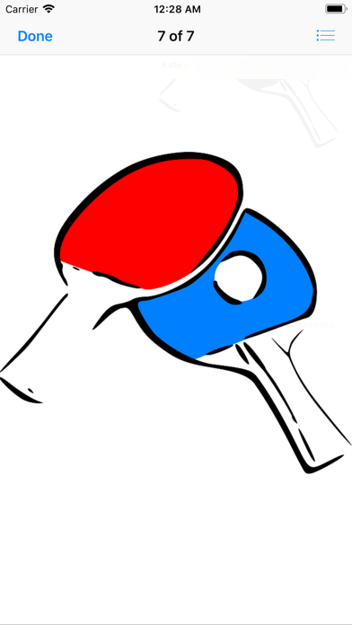Play Ping Pong Stickers app image