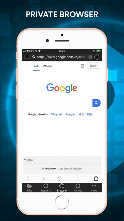 File Manager - Browser screenshot-5