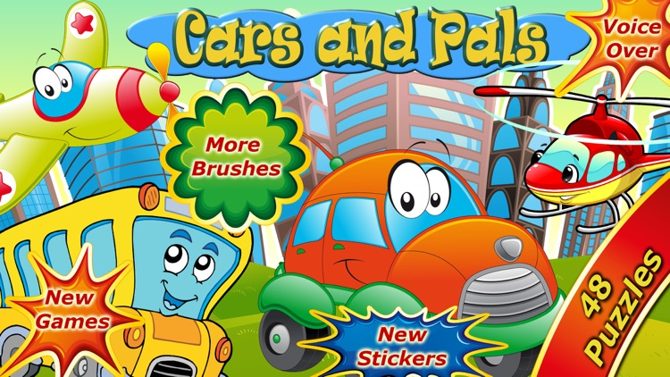 Cars Puzzle Games for Kids screenshot-7