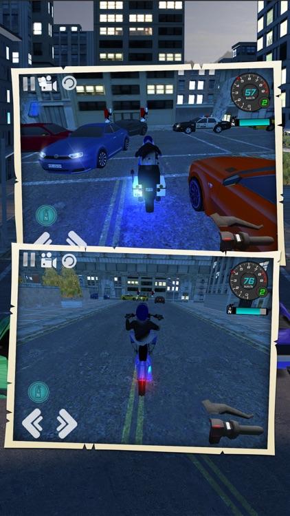 Motorcycle Driving Simulator screenshot-3