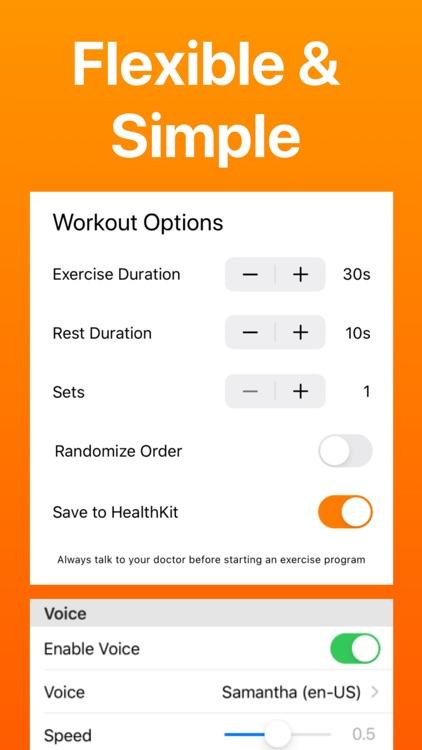 7 Minute Workout screenshot-4