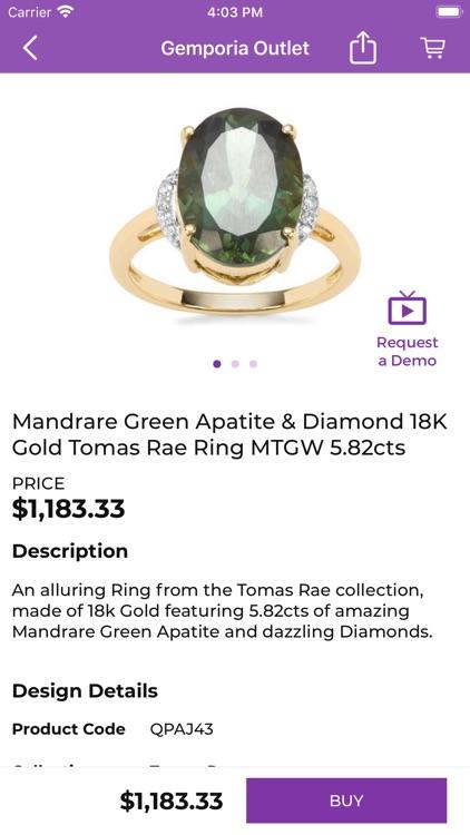 Gemporia Jewelry Auctions screenshot-9