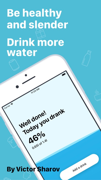 My Water: Daily Drink Tracker