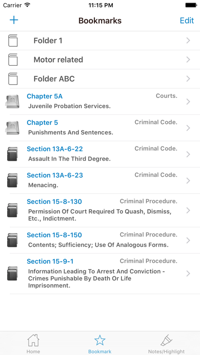 NY Penal Code & Laws screenshot four
