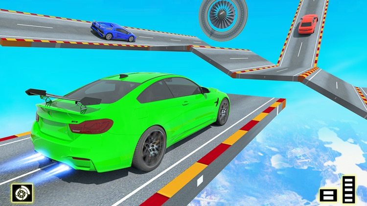 Mega Ramp Car Stunt Games screenshot-5