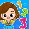 App Icon for Baby Town: Preschool Math Zoo App in Egypt IOS App Store