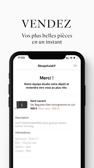 messages.download Vestiaire Collective software