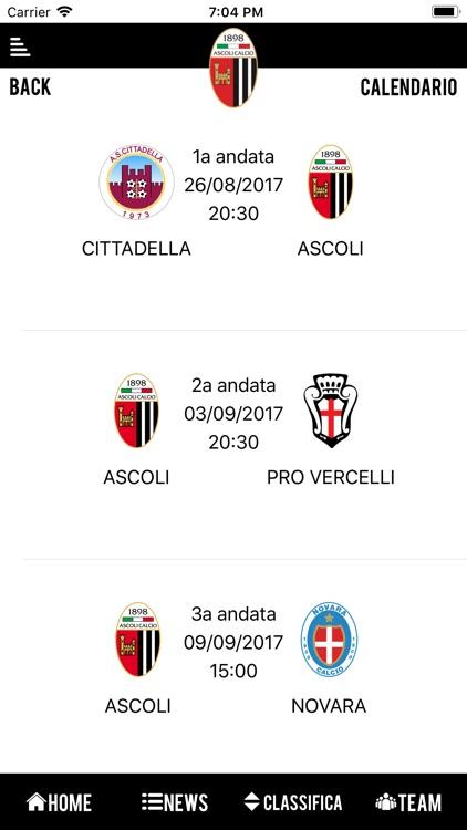 Ascoli Calcio 1898 Official screenshot-4