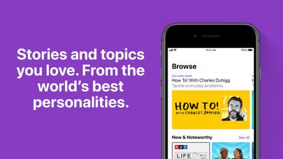 Apple Podcasts Screenshot on iOS