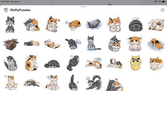 Cat Bigmoji Funny Stickers screenshot 4
