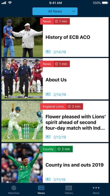 ECB Cricket screenshot-3