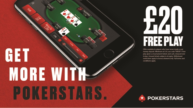 PokerStars Online Poker Games screenshot-0