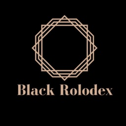 Black Rolodex.
