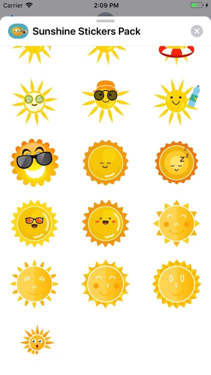 Sunshine Stickers Pack
