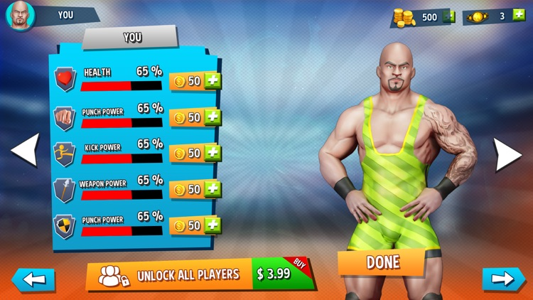 Wrestling Games Revolution 3D screenshot-6