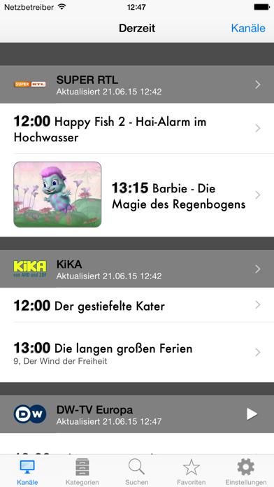 German TV Screenshots