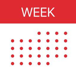Ícone do app Week Calendar