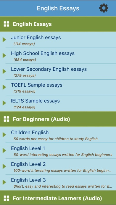 Essay Papers  Screenshot  For Learn English Essays  Write My Essay Paper also Essay Style Paper Learn English Essays  App Price Drops Example Of A Thesis Essay