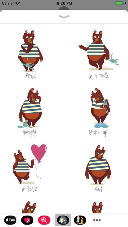Mate Bear Stickers screenshot-3