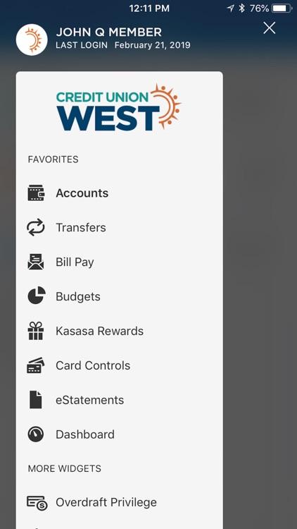 Credit Union West screenshot-4
