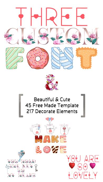 Valentine's Day - Custom Font screenshot 1