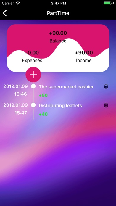 Classified Bookkeeping app image